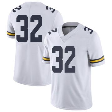 Men's Luke Wilson Michigan Wolverines Limited White Brand Jordan Football College Jersey